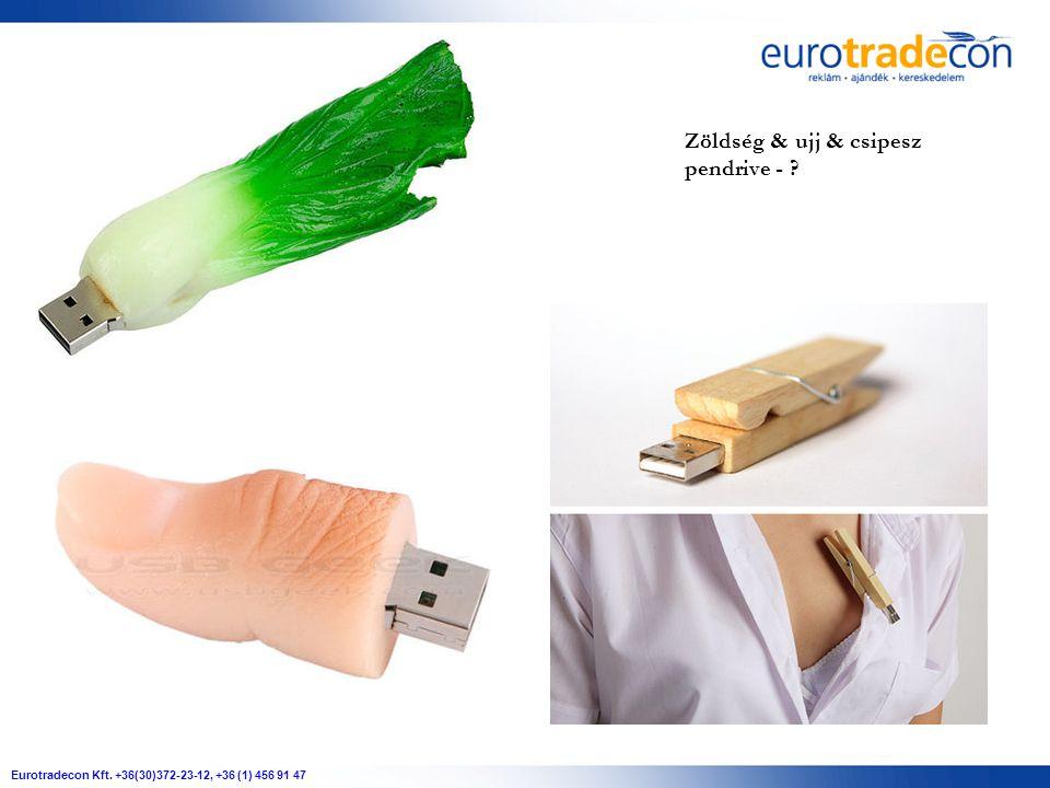 Eurotradecon Kft. +36(30)372-23-12, +36 (1) 456 91 47 Zöldség & ujj & csipesz pendrive -