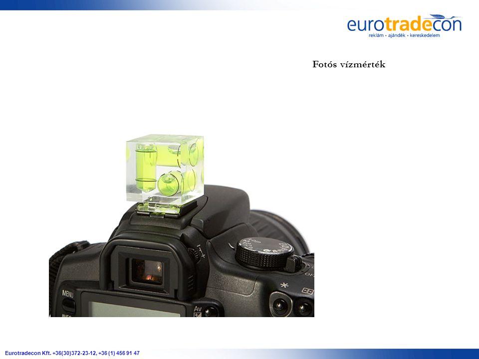 Eurotradecon Kft. +36(30)372-23-12, +36 (1) 456 91 47 Fotós vízmérték
