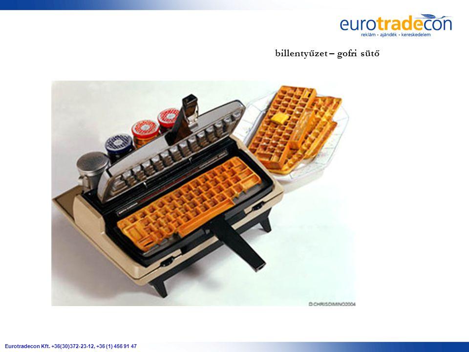 Eurotradecon Kft. +36(30)372-23-12, +36 (1) 456 91 47 billentyűzet – gofri sütő