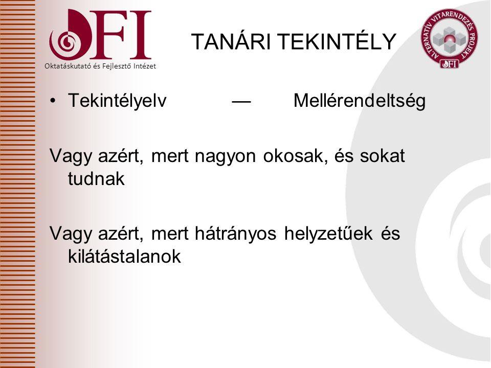 Oktatáskutató és Fejlesztő Intézet HATÁROZAT sikertelenség esetén A 20/2012.