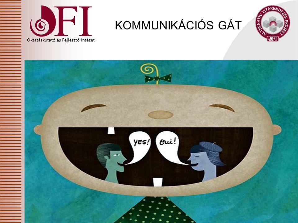Oktatáskutató és Fejlesztő Intézet KOMMUNIKÁCIÓS GÁT