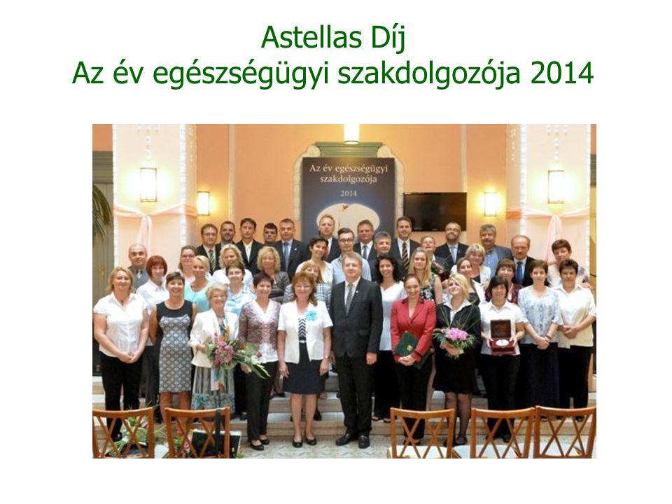Astellas Díj Az év egészségügyi szakdolgozója 201 4