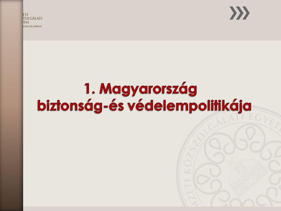 A fejezet az alábbi ismereteket mutatja be:  Magyarország, a NATO és az EU biztonság- és védelempolitikája  Az országvédelem igazgatása  A különleges jogrend  A honvédelmi kötelezettségek rendszere  A nemzetgazdaság védelmi felkészítése és mozgósítása  A létfontosságú rendszerek és létesítmények védelme