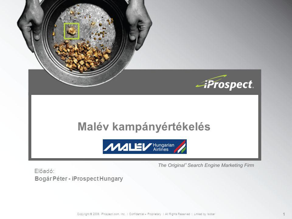 Előadó: Copyright ® 2009, iProspect.com, Inc.