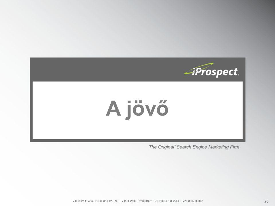 A jövő Copyright ® 2009, iProspect.com, Inc.