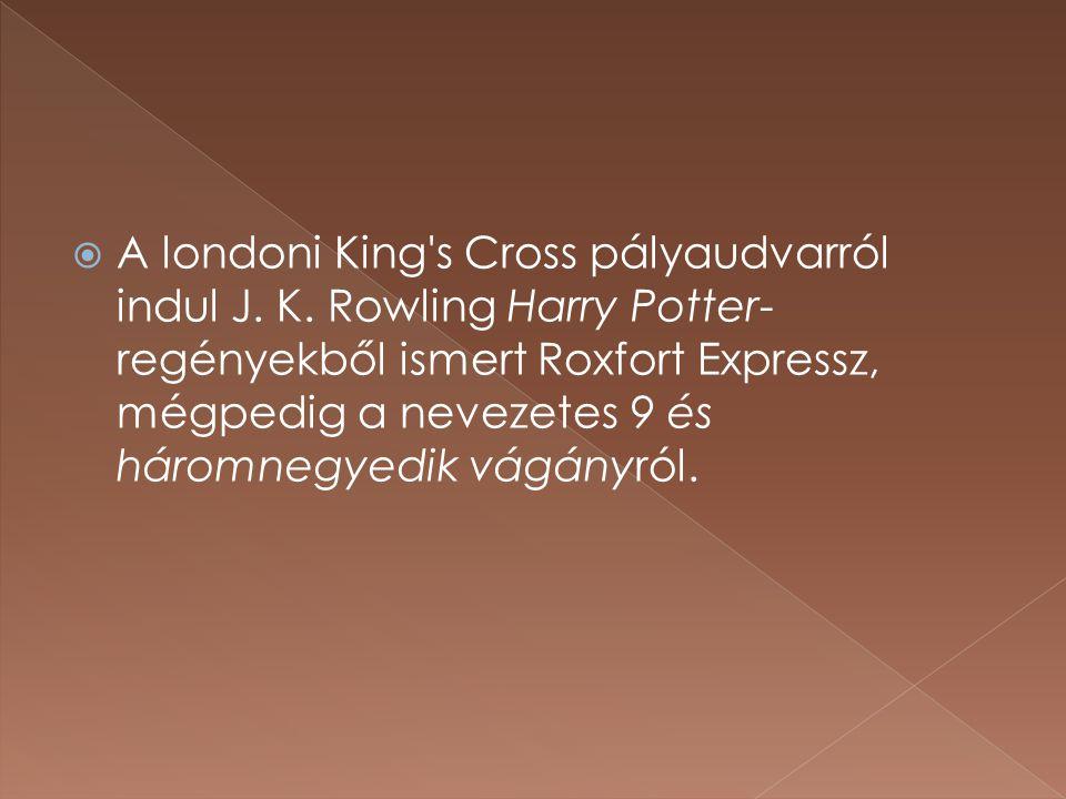  A londoni King s Cross pályaudvarról indul J.K.
