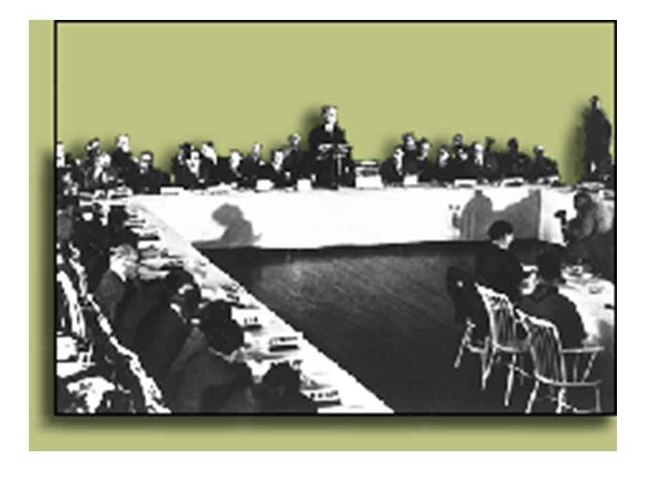 A két világháború között a brit magatartást nagymértékben a világgazdasági hegemóniáért az Egyesült Államok uralkodó pozícióba kerülésének megakadályozásáért folytatott harc jellemezte.