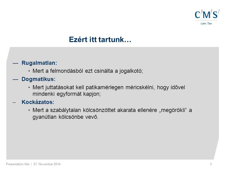 Presentation title | 21.