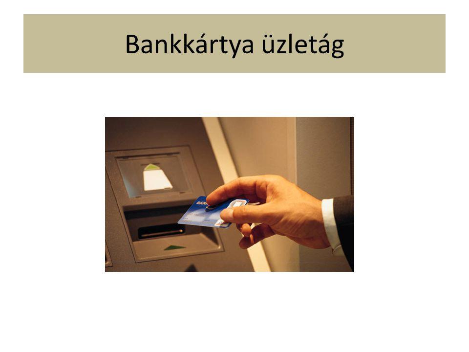 Bankkártya üzletág