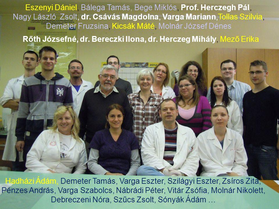 Amiben nem szűkölködünk Eszenyi Dániel, Bálega Tamás, Bege Miklós, Prof. Herczegh Pál, Nagy László Zsolt, dr. Csávás Magdolna, Varga Mariann,Tollas Sz