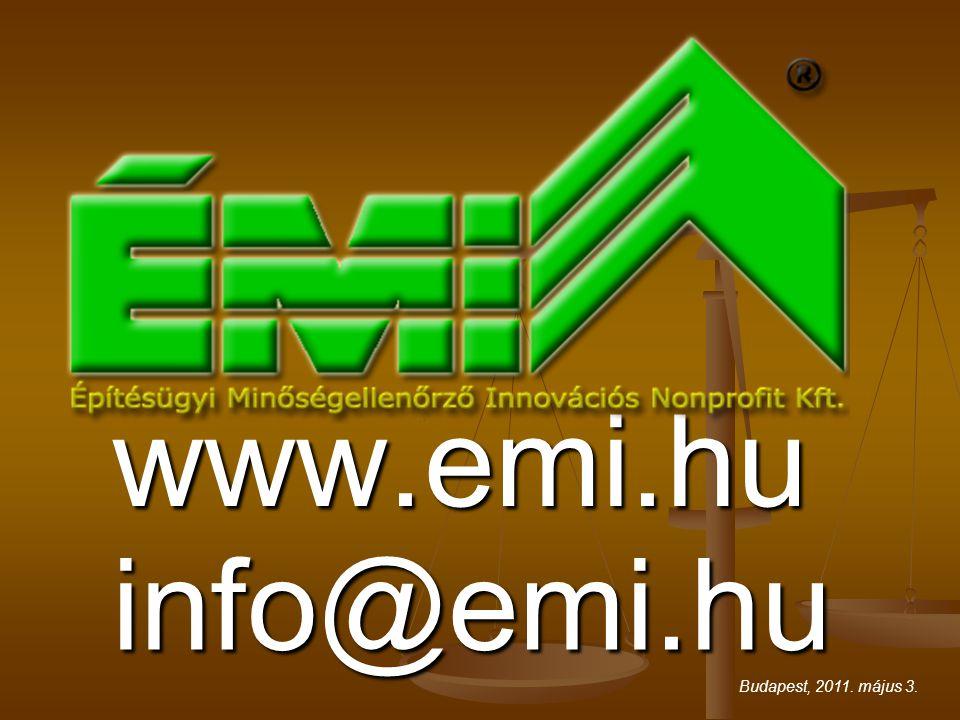 www.emi.hu info@emi.hu