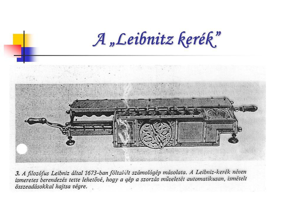 """A """"Leibnitz kerék"""""""