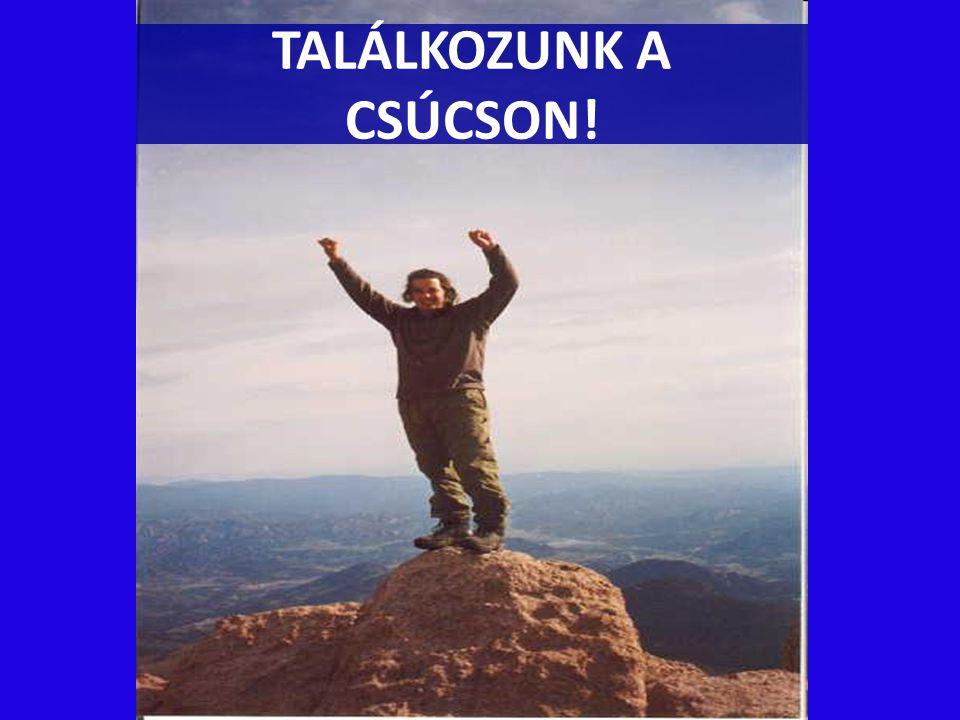 TALÁLKOZUNK A CSÚCSON!