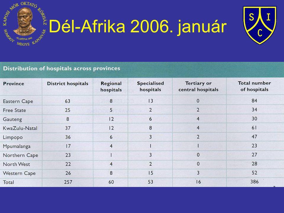 Dél-Afrika 2006. január
