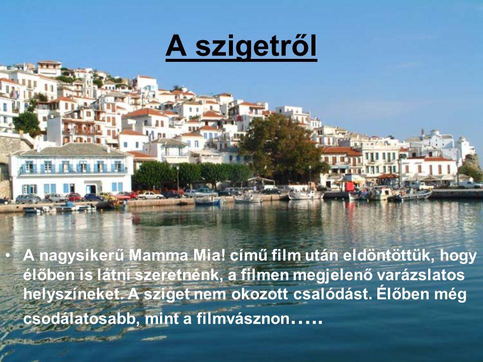 A szigetről A nagysikerű Mamma Mia! című film után eldöntöttük, hogy élőben is látni szeretnénk, a filmen megjelenő varázslatos helyszíneket. A sziget
