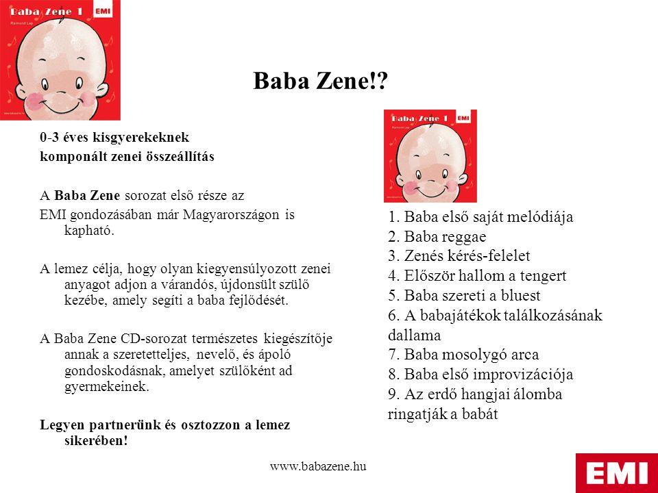 www.babazene.hu Baba Zene!.