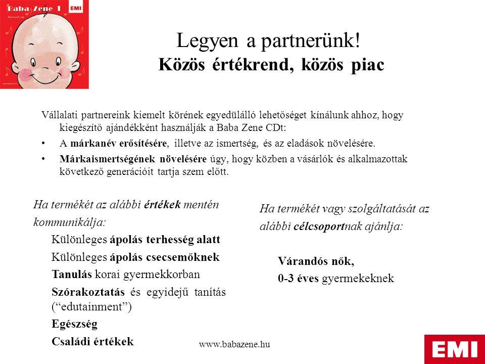www.babazene.hu Legyen a partnerünk.