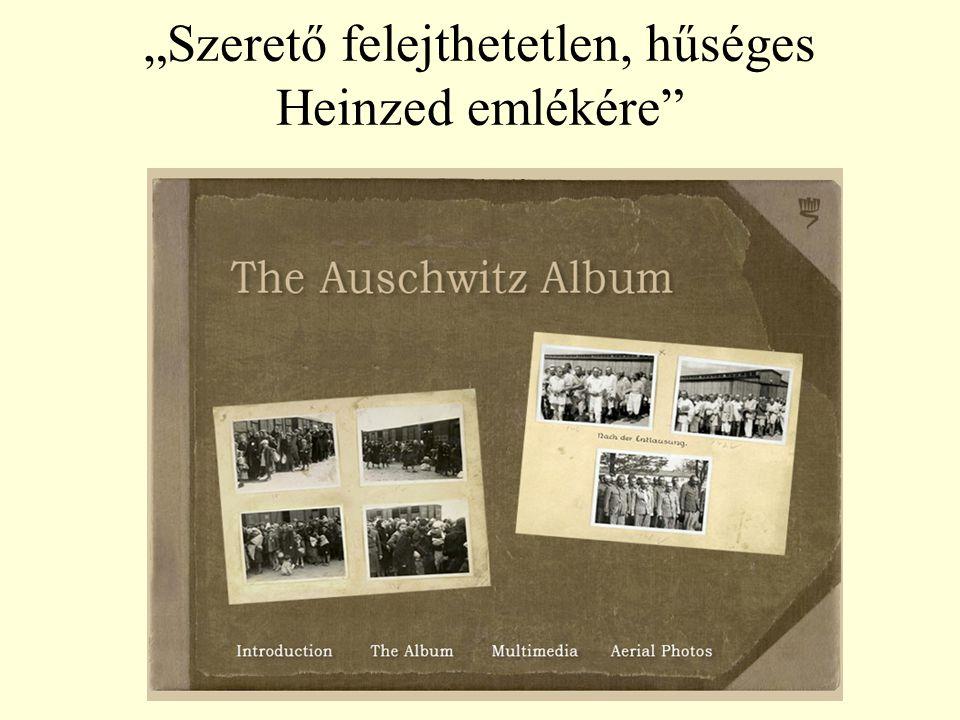 Auschwitz Album, Egy album – két szerep Családi emlék Jákób Lili Beregszász 1944.