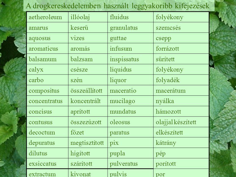Zsíros olajok -Túlnyomórészt magvakban és terméshúsban fordulnak elő -Alkotói főleg trigliceridek és lipidek (glicerin + zsírsavak) -A zsírsavmolekulákban találhatókettős kötések száma alapján vannak egyszeresen, kétszeresen és többszörösen telítetlen zsírsavak (a telített zsírsavakban nincs kettős kötés) -Csökkenthetik a vér koleszterinszintjét: lenolaj, földimogyoróolaj, búzacsíraolaj -A gamma-linolénsavat (kerti borágó, fekete ribiszke, ligetszépe fajok) számos bőrbetegség kezelésére használják -A zsíros olajok bőrvédő, irritációcsökkentő hatásúak lehetnek, segítik a sérült bőr és az ekcémák gyógyulását -Zsírban oldódó gyógyhatású anyagok vivőanyagai is lehetnek -Sokat kenőcsök előállításakor használnak