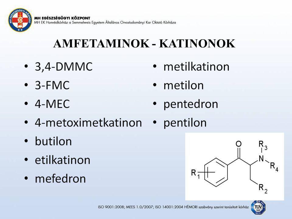 AMFETAMINOK - KATINONOK