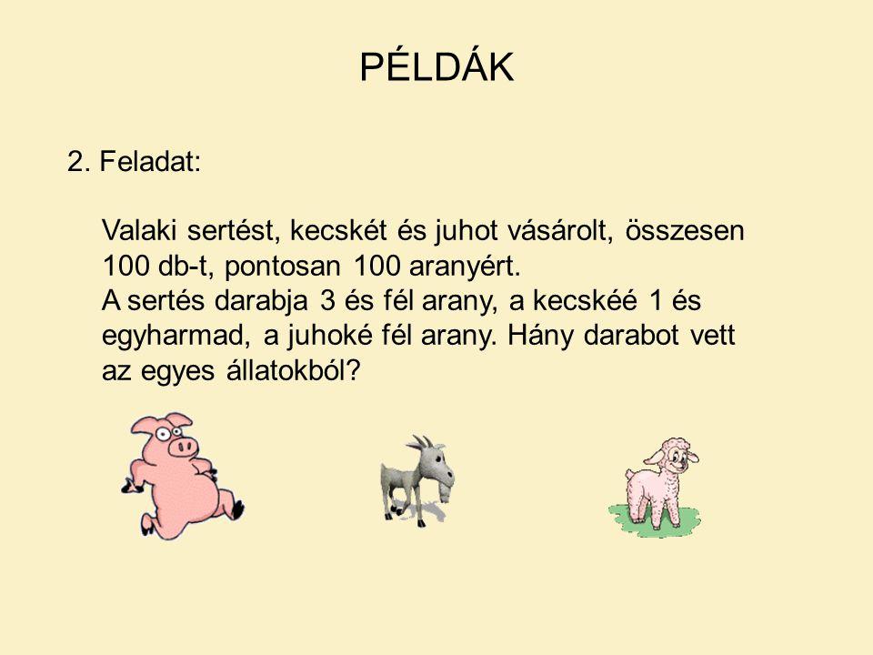 PÉLDÁK 2.