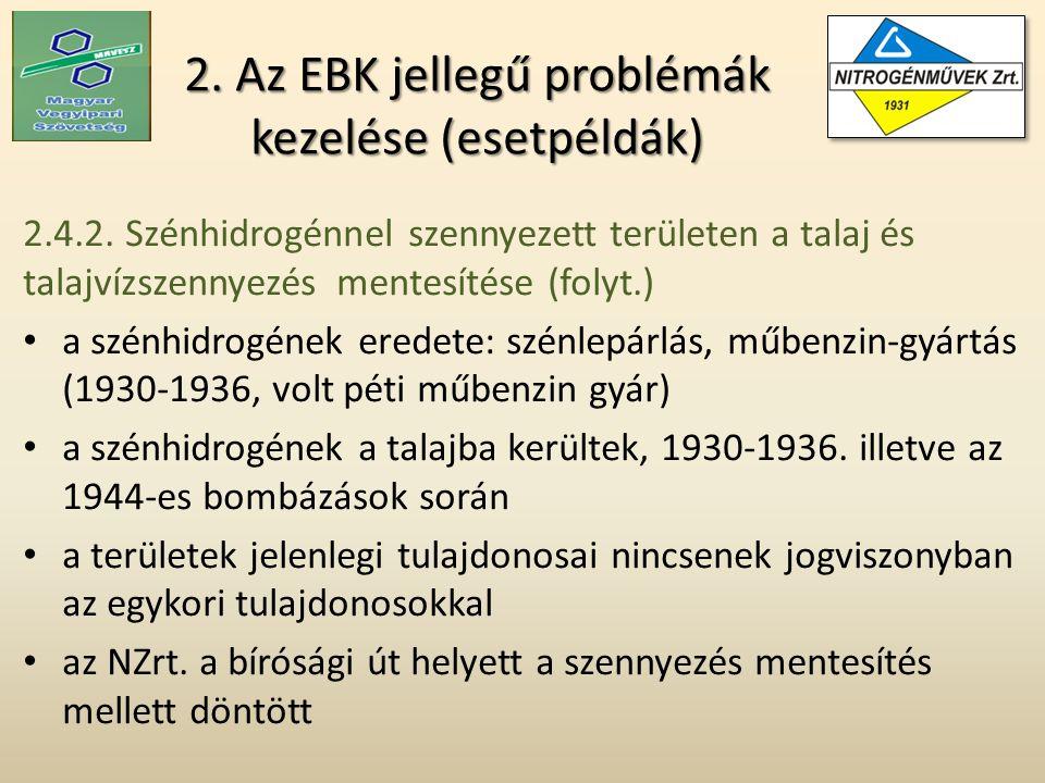 2. Az EBK jellegű problémák kezelése (esetpéldák) 2.4.2.