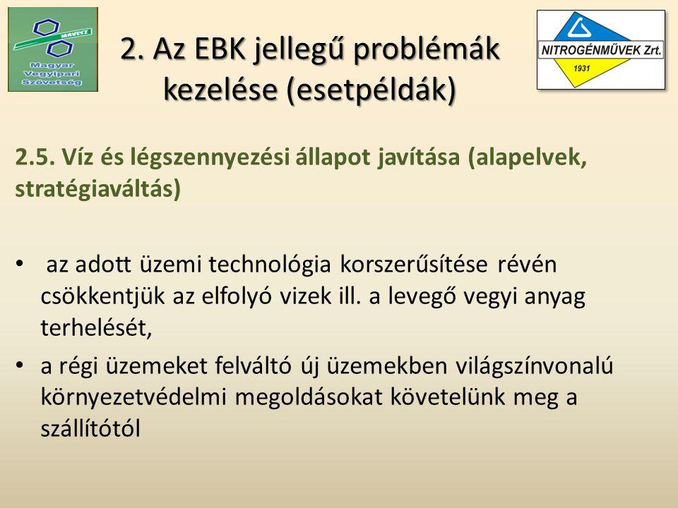 2. Az EBK jellegű problémák kezelése (esetpéldák) 2.5.
