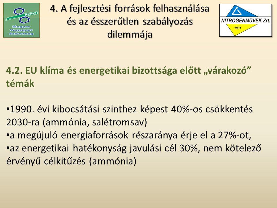 4. A fejlesztési források felhasználása és az ésszerűtlen szabályozás dilemmája 4.2.