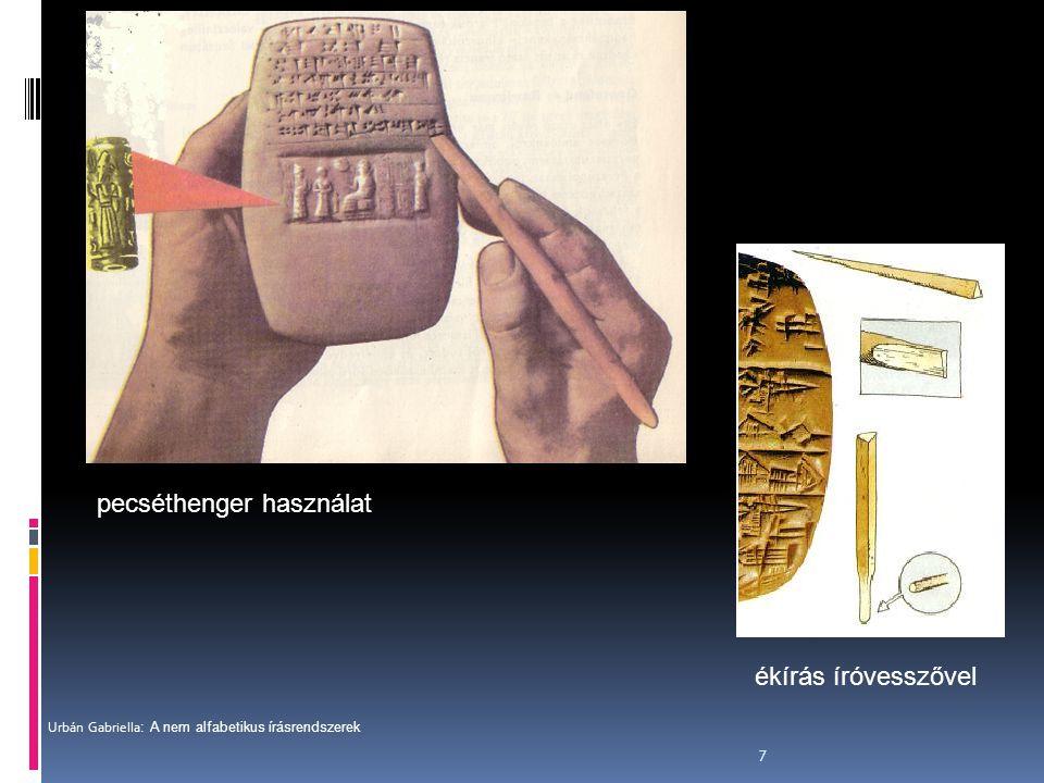 """8 Egyiptomi írnokok  Az első """"toll és papír rendszere az ősi Egyiptom civilizációjából ered."""