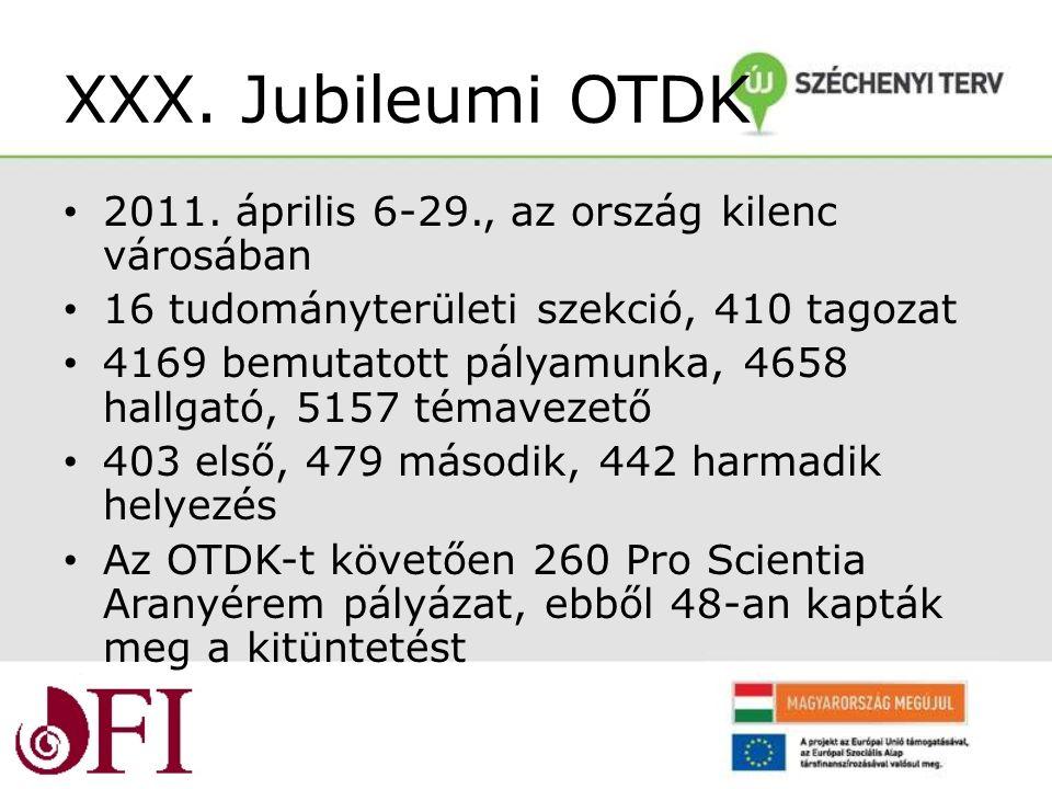 XXX. Jubileumi OTDK 2011.