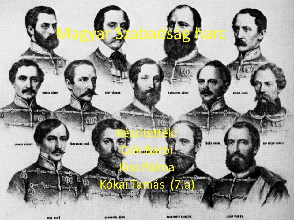 I.Bécsi forradalom Bécsi forradalom* március 13-án - Ez alapjaiban rázkódtatta meg a birodalmat, hatására az uralkodó V.