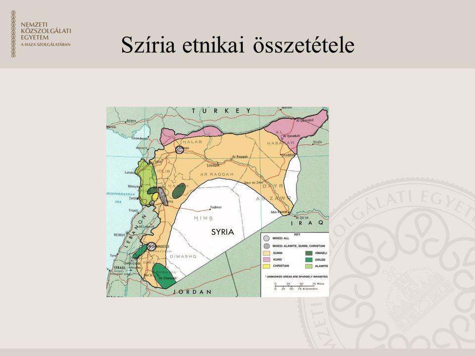 Az Iszlám Állam ellenőrzés alatt tartott területei
