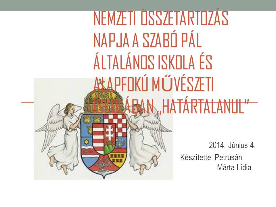 A nemzeti összetartozás napja az 1920-as trianoni békeszerződés aláírásának 90.