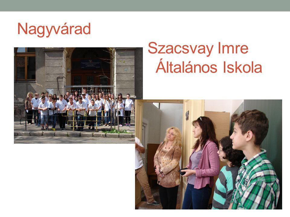 Nagyvárad Szacsvay Imre Általános Iskola