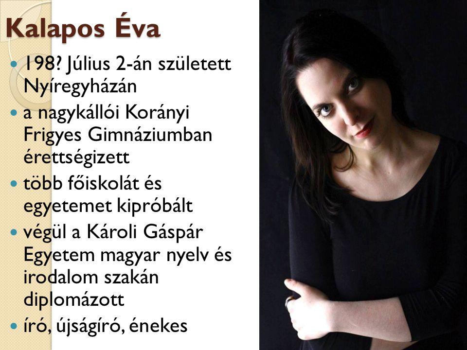 Másik Szoba nevű zenekarával kortárs költők műveit dolgozzák fel holnap: http://www.masikszoba.hu/ facebook: https://www.facebook.com/Masik.Szoba?fref=ts https://www.facebook.com/Masik.Szoba?fref=ts kedvcsinálónak: https://www.youtube.com/watch?v=NIGXhpQ Rq7E&index=6&list=UUH1n-G7-R- i_7kZbB5CCgyw