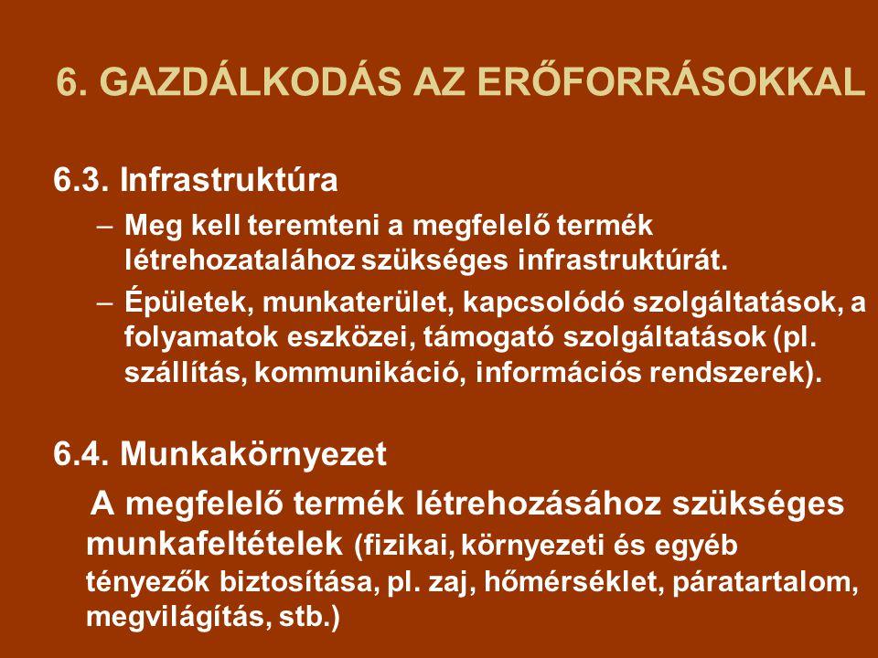 6.GAZDÁLKODÁS AZ ERŐFORRÁSOKKAL 6.3.