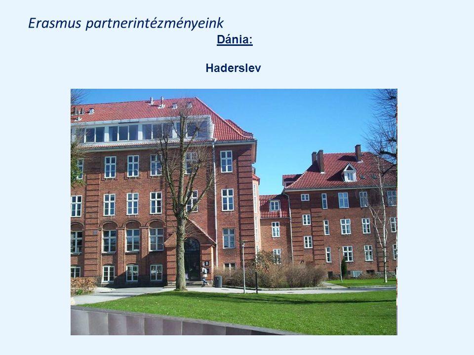 Erasmus partnerintézményeink Dánia: Haderslev