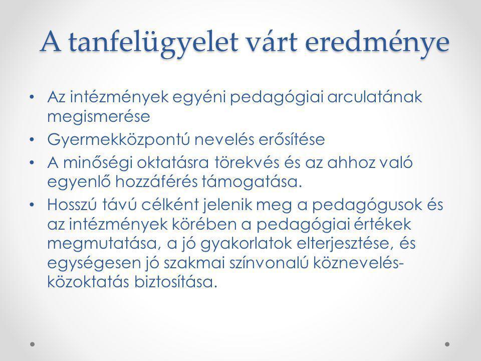 -pedagógus Tanfelügyelet-pedagógus Mire irányul.