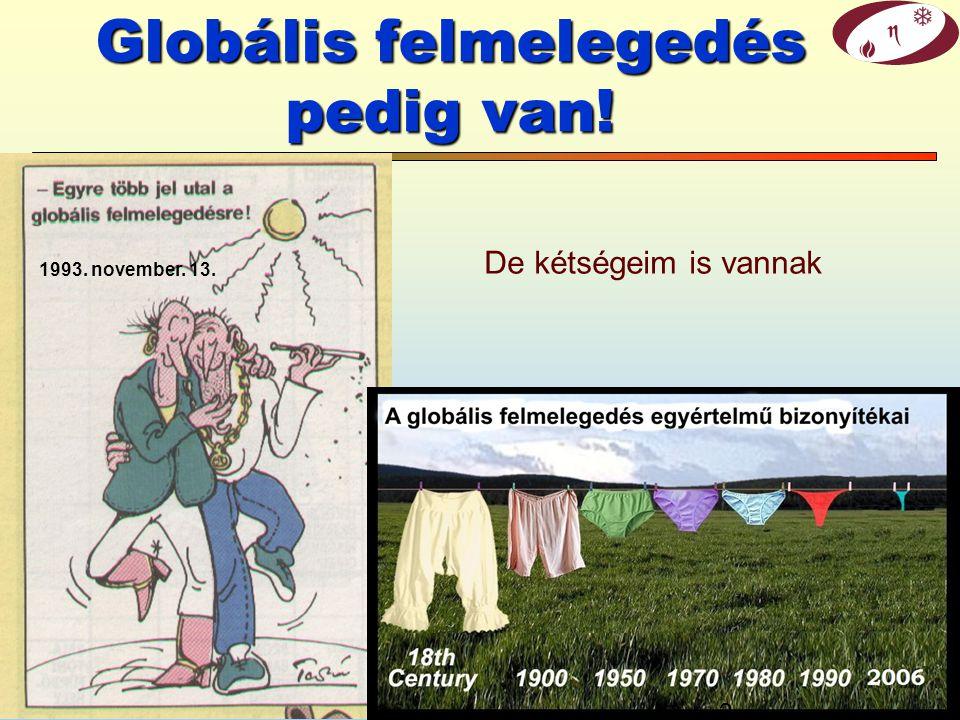 © Gács Iván (BME)1/54 Klíma és energia: tények, kételyek és kilátások Energia és környezet Gács Iván