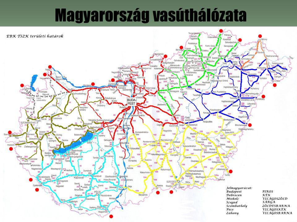 Magyarország vasúthálózata