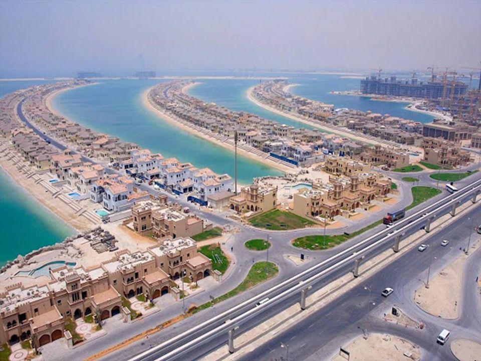 A törvény szerint Dubaiban külföldi nem vehet ingatlant, ezért találták ki a Pálma szigeteket, melyből már épül a második is, bár itt már csekélyebb a