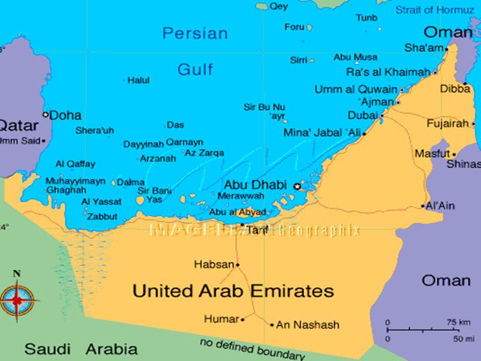 A hét ló az emírségeket jelképezi, a fekete ló Abu Dhabi jelképe, a színében is utalva arra, hogy Abu Dhabi a legnagyobb olajtermelő az emírségek közö