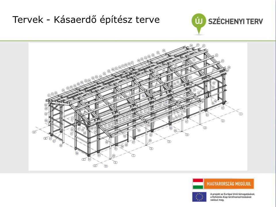 Tervek - Kásaerdő építész terve