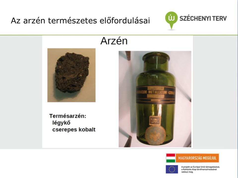 Az arzén természetes előfordulásai