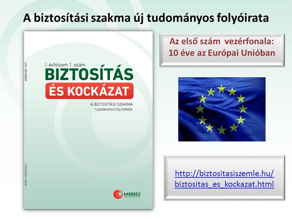 A biztosítási szakma új tudományos folyóirata http://biztositasiszemle.hu/ biztositas_es_kockazat.html http://biztositasiszemle.hu/ biztositas_es_kock
