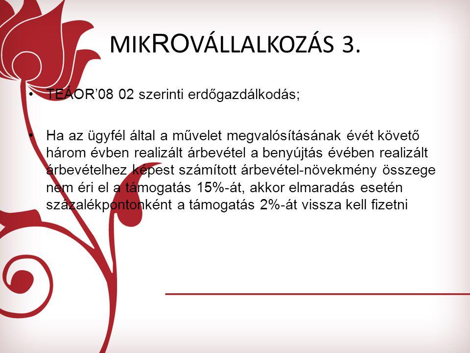 MIK RO VÁLLALKOZÁS 3.