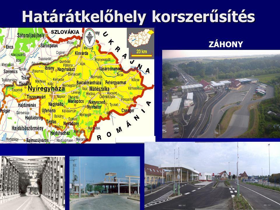Határátkelőhely korszerűsítés ZÁHONY