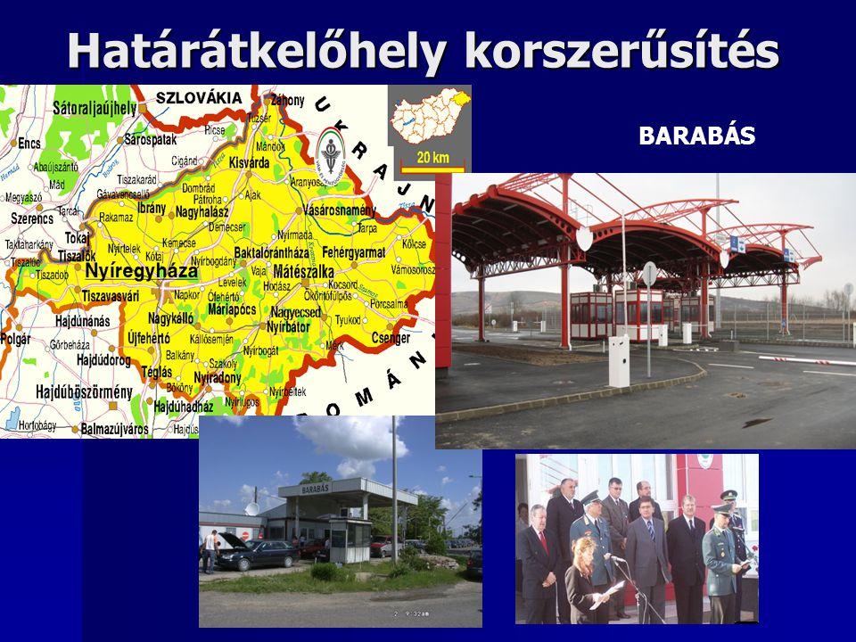 Határátkelőhely korszerűsítés BARABÁS