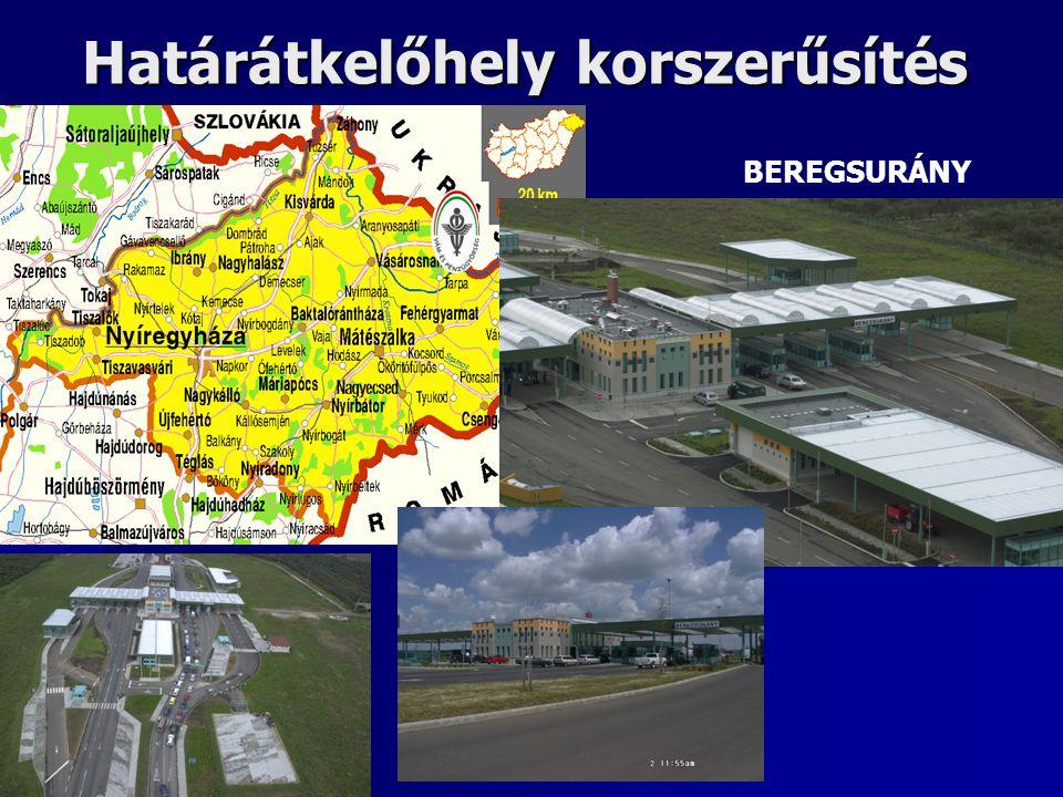 Határátkelőhely korszerűsítés BEREGSURÁNY