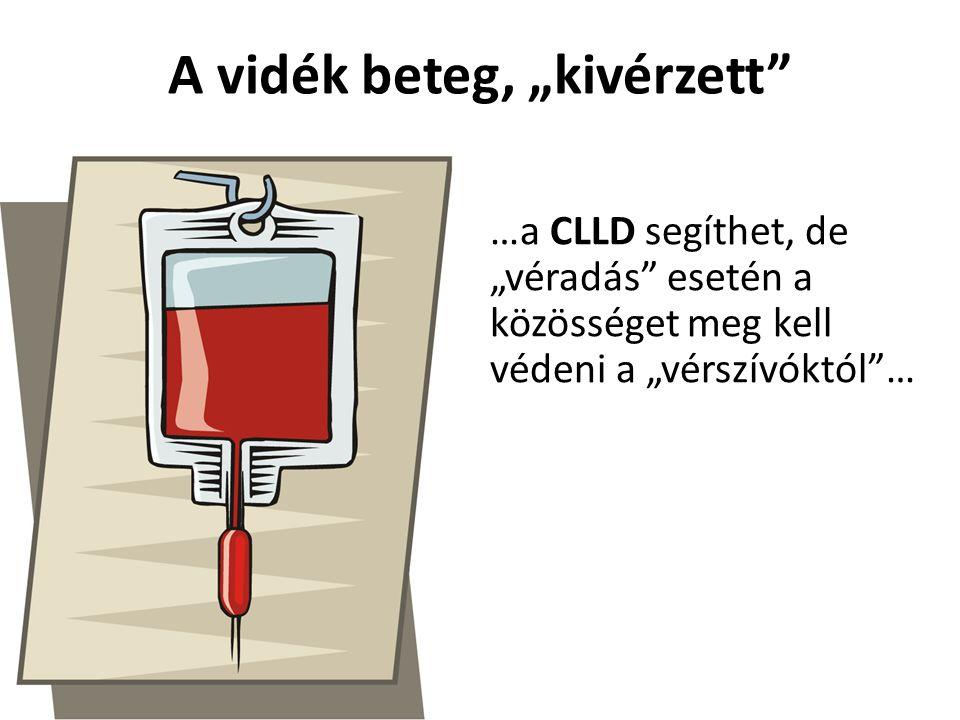 """A vidék beteg, """"kivérzett"""" …a CLLD segíthet, de """"véradás"""" esetén a közösséget meg kell védeni a """"vérszívóktól""""…"""